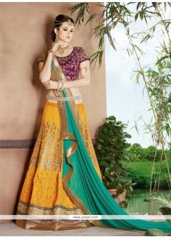 Compelling Silk A Line Lehenga Choli