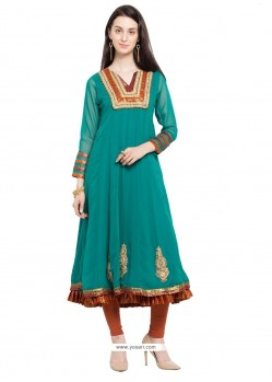 Distinctively Georgette Designer Kurti