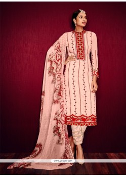 Orphic Pink Pant Style Suit