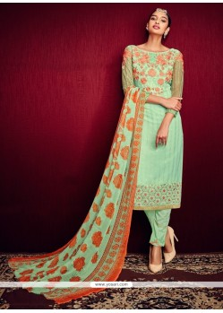 Sunshine Embroidered Work Pant Style Suit