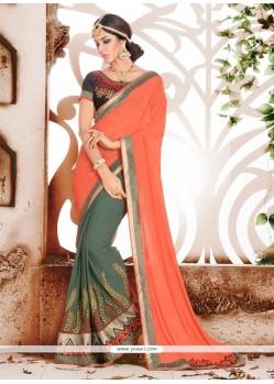 Noble Georgette Classic Designer Saree