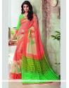 Sophisticated Print Work Multi Colour Printed Saree