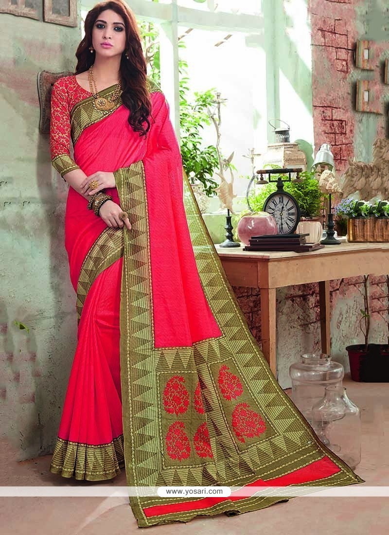 Festal Art Silk Printed Saree