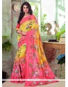 Pretty Art Silk Printed Saree