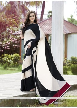 Magnificent Print Work Casual Saree