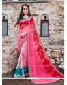 Elegant Georgette Printed Saree