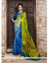 Superb Multi Colour Printed Saree