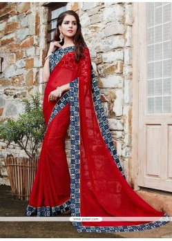 Transcendent Printed Saree For Festival