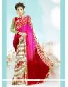 Fascinating Multi Colour Printed Saree