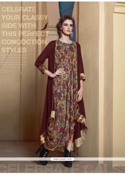 Extraordinary Georgette Party Wear Kurti