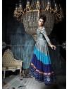 Multicolor Art Silk Anarkali Suit