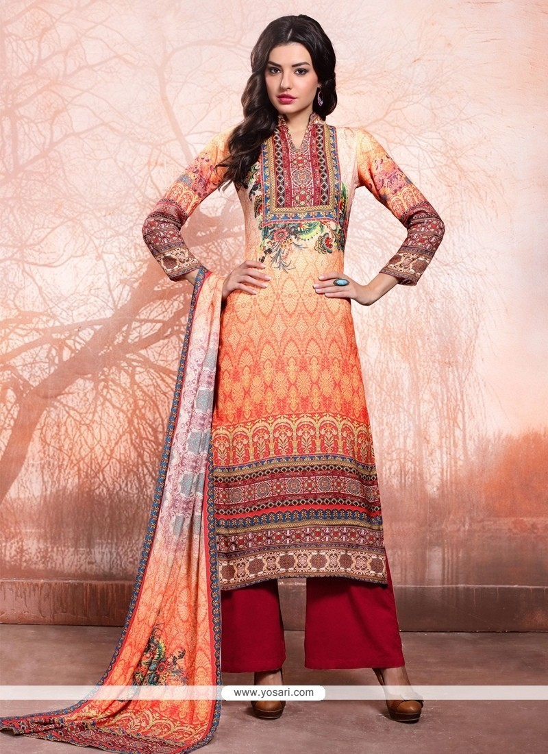 31043ec568 Buy Excellent Multi Colour Designer Palazzo Salwar Kameez | Palazzo ...