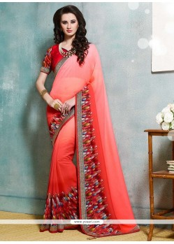 Delightsome Multi Colour Printed Saree