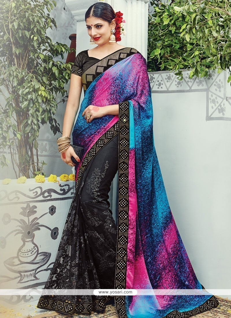 Extraordinary Satin Designer Traditional Sarees