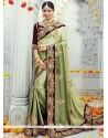 Epitome Green Classic Designer Saree