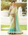Imperial Yellow Classic Designer Saree