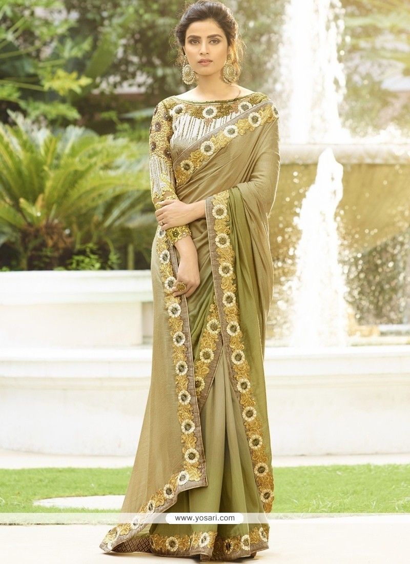 Fetching Patch Border Work Designer Traditional Sarees