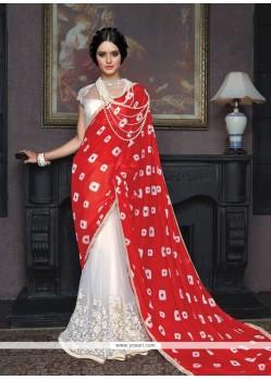 Titillating Satin Classic Designer Saree