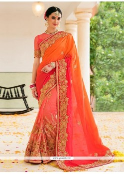 Tempting Zari Work Designer Saree