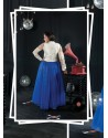 Blue Party wear Gown