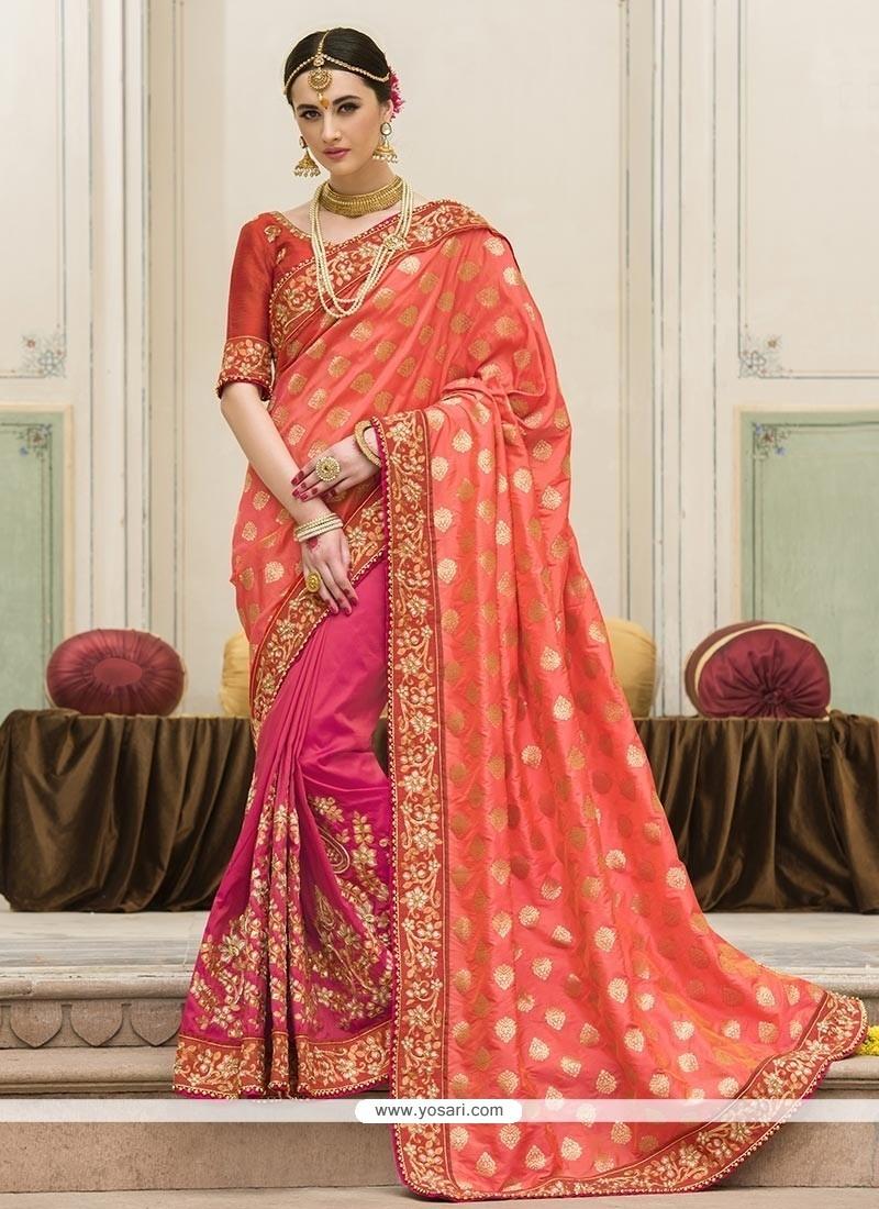 fd26a686d1 Buy Staring Designer Saree For Reception | Wedding Sarees