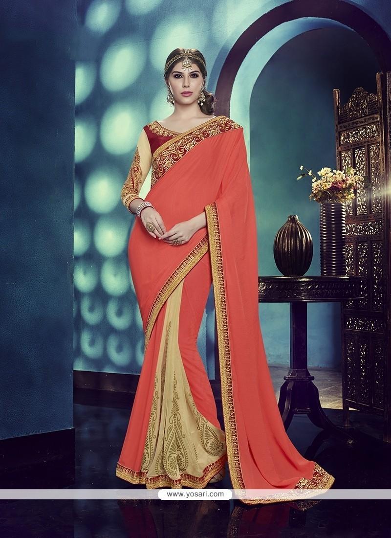 Blissful Net Classic Designer Saree