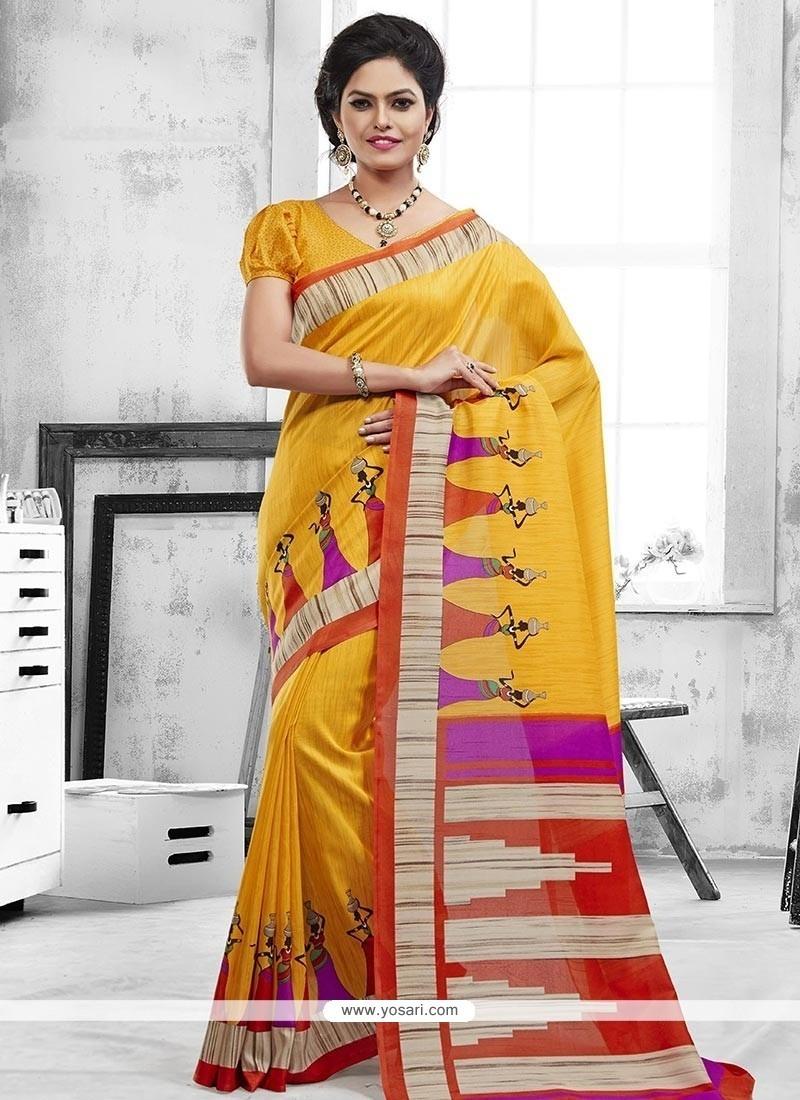 Radiant Art Silk Casual Saree