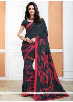 Staggering Crepe Silk Casual Saree