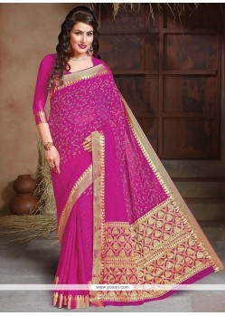 Competent Embroidered Work Traditional Saree
