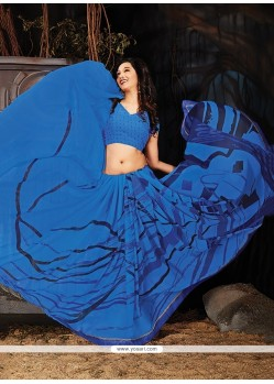 Fantastic Printed Saree For Party