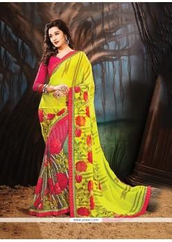 Modish Print Work Printed Saree