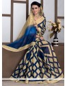 Lovely Print Work Bhagalpuri Silk Casual Saree