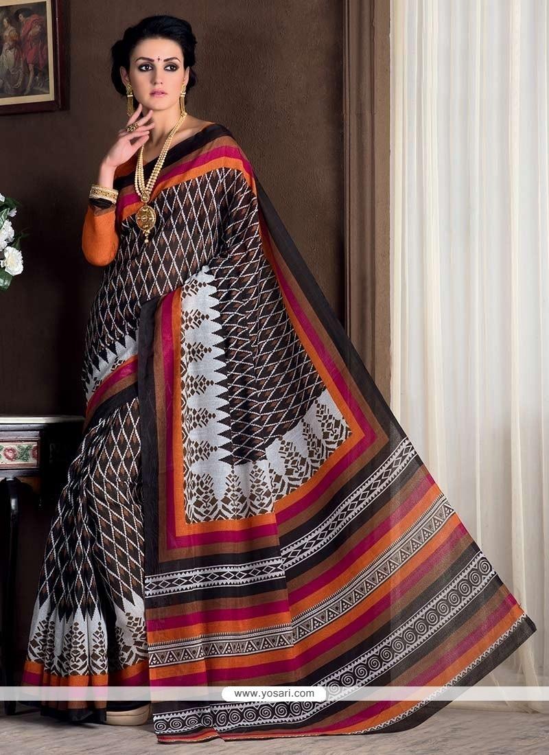 Excellent Multi Colour Casual Saree