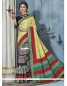 Incredible Multi Colour Printed Saree