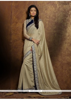 Princely Patch Border Work Classic Saree