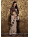 Pristine Patch Border Work Viscose Classic Designer Saree