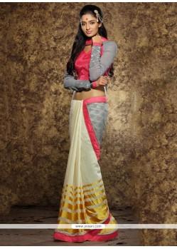 Versatile Viscose Multi Colour Classic Designer Saree