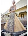 Festal Georgette Embroidered Work Anarkali Salwar Kameez