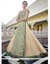 Dazzling Georgette Embroidered Work Anarkali Salwar Kameez