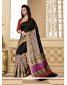 Appealing Silk Printed Saree