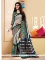 Congenial Multi Colour Printed Saree