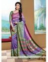 Surpassing Silk Printed Saree