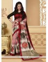 Gripping Multi Colour Printed Saree