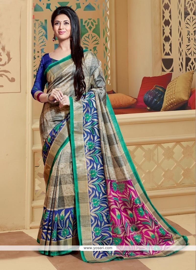 Mystic Printed Saree For Casual