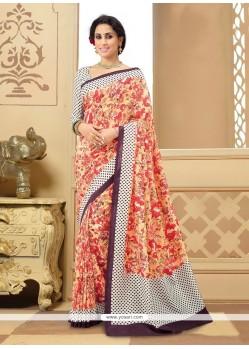 Wonderous Multi Colour Printed Saree