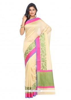 Sophisticated Art Silk Weaving Work Designer Traditional Sarees