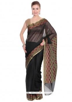 Bedazzling Art Silk Weaving Work Classic Saree