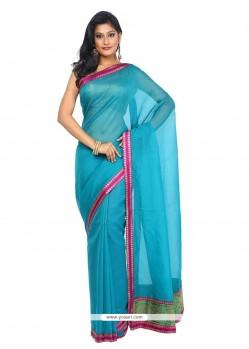 Immaculate Weaving Work Art Silk Trendy Saree