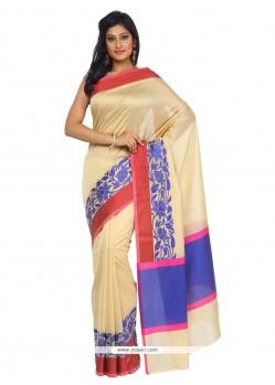 Aristocratic Weaving Work Art Silk Classic Saree