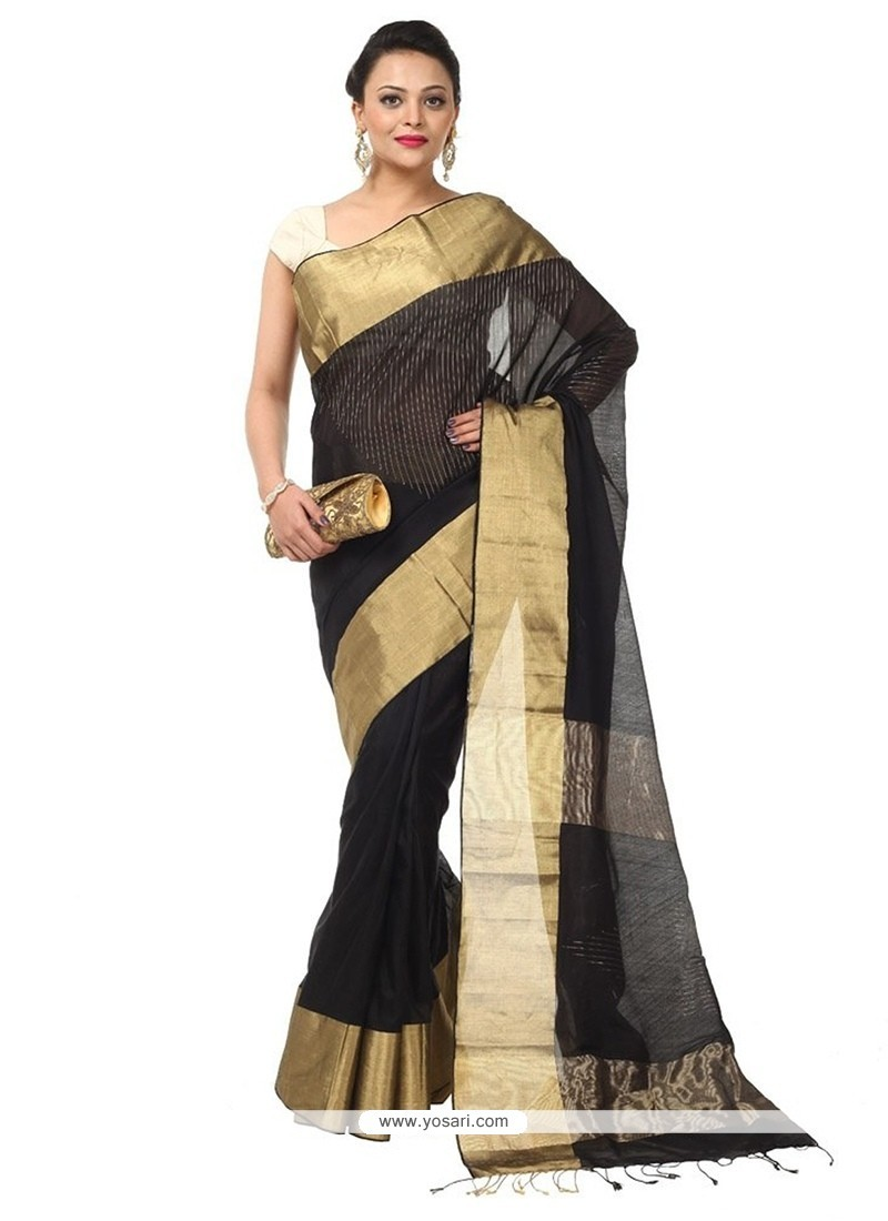 Winsome Cotton Traditional Saree